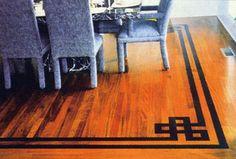 Room Setting photo of Hardwood Floor inlays & accents