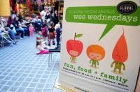 Midtown Global Market, Minneapolis, has events for wee ones every Wednesday morning.