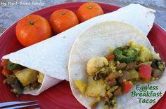 eggless breakfast tacos