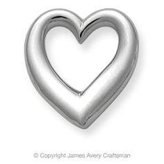 Freeform Heart from James Avery