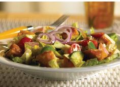 Here's another great recipe from the Catering Company! Monte-Cristo Bread Salad, yum yum!