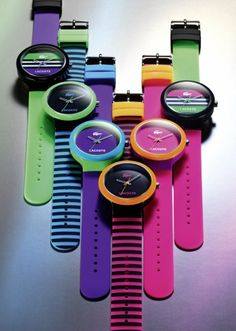#summer colors with #Lacoste watches