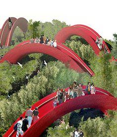 Garden of 10,000 Bridges - Xian, China