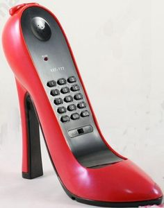 Anyone remember the shoe phone on Get Smart?