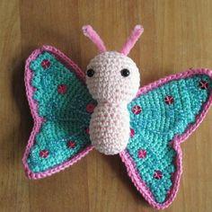 Amigurumi Butterflies & Insects on Pinterest Amigurumi ...