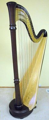 One of my harps, a Lyon and Healy 85