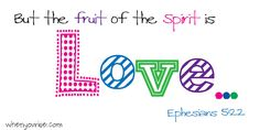 sundayschool, fruit, spirit, word