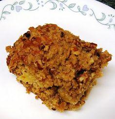 Apple Cinnamon Streusel Amish Friendship Bread Cake