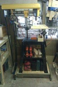 Radial Head Drill Press | Jays Custom Creations