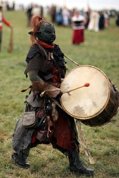 Lil Goblin drummer~larp