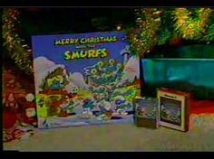 Merry Christmas with The Smurfs Music Offer (1983) #Smurfs #commercial #MailOrder #ad #advertisement #record #LP #8Track #vinyl #cassette #audio #tape