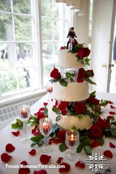 Motorcycle Wedding Cake Reading PA Wedding Photographer