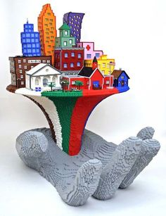 The Brick Artist Nathan Sawaya - Pondly