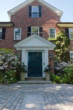 Warren Estate - door color