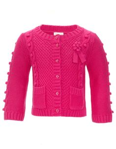 My Design Baby Margo Cardigan | Pink | Monsoon