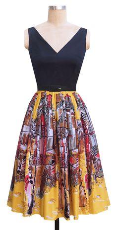 trashi diva, fashion, walks, cloth, dresses, parks, french quarter, 1950s inspir, park dress