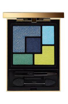 Fun bold colors | Yves Saint Laurent '5 Color' Couture Palette