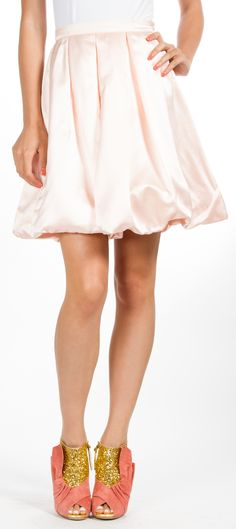 okay, so the skirt is cute, but those shoes!!!!!!