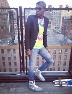 style script, music, air mag, theophilus london, nike mag