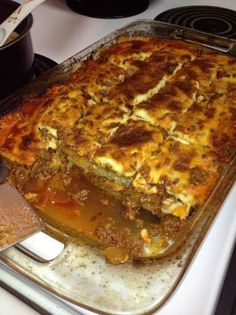 Kittencal's Greek Moussaka. One of my favorite dishes when I visited Greece. Hopefully I can recreate it!
