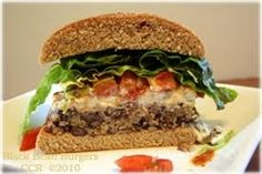 Black Bean Burgers Recipe - If ground beef has you suffering from flavor fatigue, these black bean burgers have you covered with a new twist on an American classic.