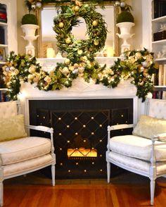 Beaux Mondes Designs: Green,Gold & Sliver Christmas