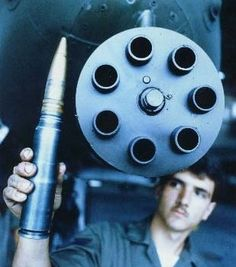 Now that's a bullet!  A-10 Warthog ammo
