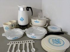 Corning Ware play dishes.