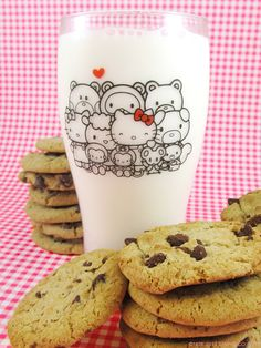 Hello Kitty pint glass
