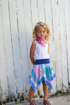 Love this one too! Little Sunny Jeanne Vintage Scarf Skirt Size by LittleSunnyJeanne, $25.00