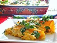 white chicken  enchiladas mmmnom.