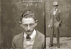 1920's Mugshots