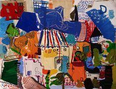 Arte Moderno, Artistas-merello.-la  casa  del  mago  (54x73  cm)mixta-lienzo