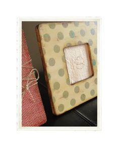 DIY:  Scrapbook Paper Frames - made using frames from the craft store.  Easy tutorial.