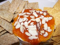 Baked Apricot Brie. Photo by Tish
