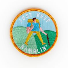 Lucy Ketchin - Ramblin' Man patch for Colours May Vary