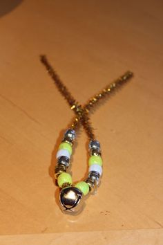 Pipe cleaner and bead decorations from 2 Flowers Learn
