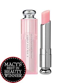 Dior Addict Lip Glow    Dior Addict Lip Glow responds to the color chemistry of your lips to create a shade that is uniquely yours. Smooth it on to moisturize, add sun protection and enhance your natural lip color.  2012 Macy's Best in Beauty Award Winner  $30