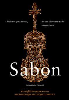 "KaraKreative: Typeface Review: ""Sabon"" March 26th, 2013."