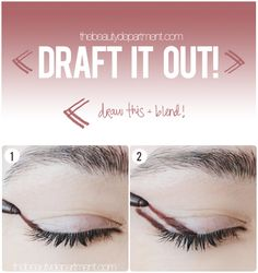 Say what?? This is hands-down the easiest way to create a gorgeous smoky eye! Click through for the rest of the steps + final look!