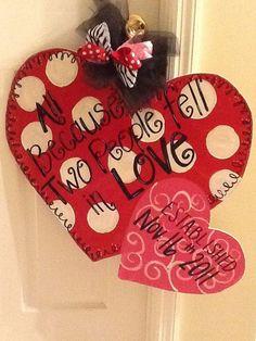 Valentine's Door Sign
