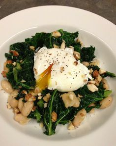 My Happy Dish: Greens & Beans from food stylist Meghan Farrell