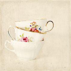 ♥ teacups...