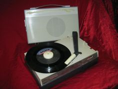 PHILIPS PORTABLE 1960'S RECORD PLAYER AG4100 REBUILT NEW STYLUS AND MOTOR | eBay