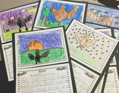 Write a report about bats! Use this oh-so-cute bat-themed writing paper. Follow the link to First Grade Focus blog for link to FREE printable. More ideas for teaching a unit on bats too!