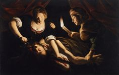 All sizes | Trophime Bigot - Judith Cutting Off the Head of Holofernes [c.1640]