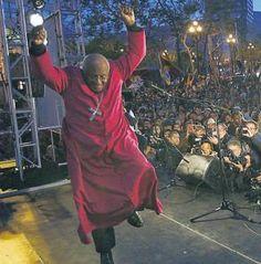 An awesome man.....Archbishop Desmond Tutu