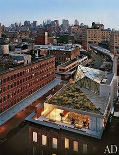 Diane von Furstenberg's Fashionable Manhattan Penthouse : Architectural Digest