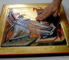 Olifa – Linseed Oil Varnish for the Egg Tempera Icon — Saint Gregory of Sinai Monastery