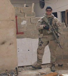 Navy SEAL sniper Chris Kyle, most lethal sniper in American history